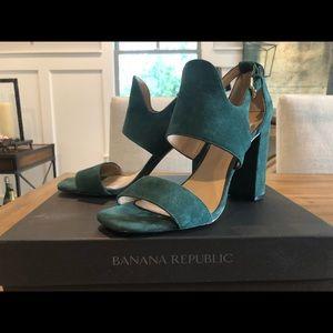 Banana Republic suede sandals